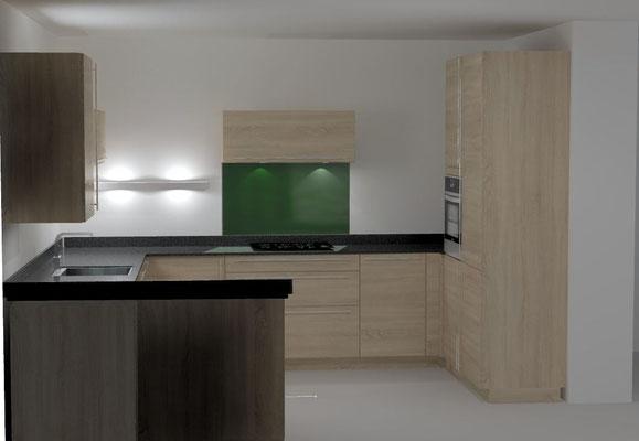 cuisine en U Cuisine interieur design Toulouse