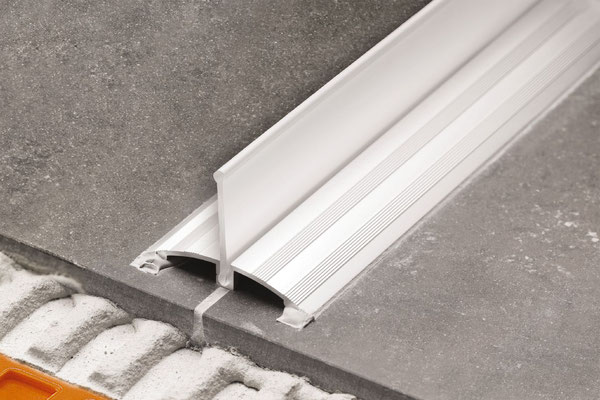 SHOWERPROFILE-WSK with collapsible upright lip is great for retro-fit projects as it can be installed after the tile in installed.