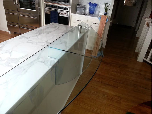 Add a raised bar to your existing countertops!