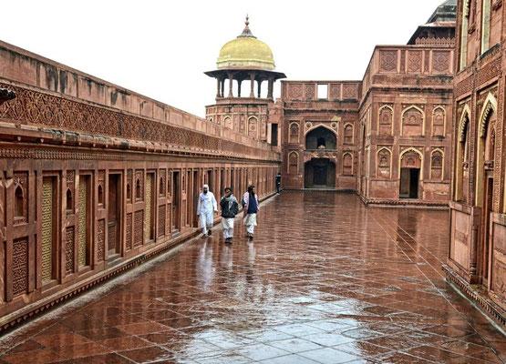 Regen in Agra _