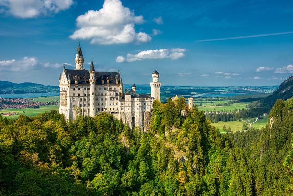 Schloss Neuschwanstein  / Füssen