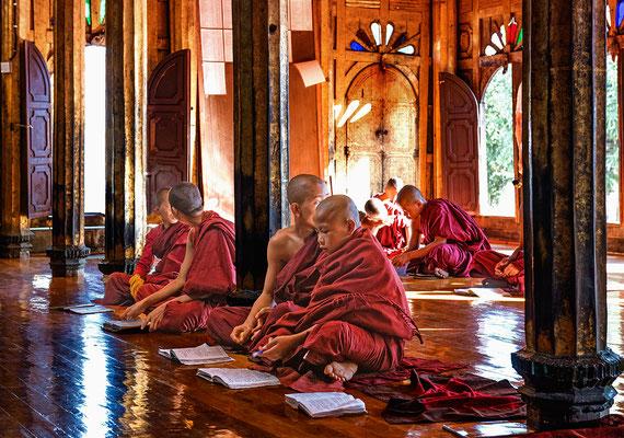 im KlosterShwe Yan Pyay in Shwe Yaunghwe Kyaung