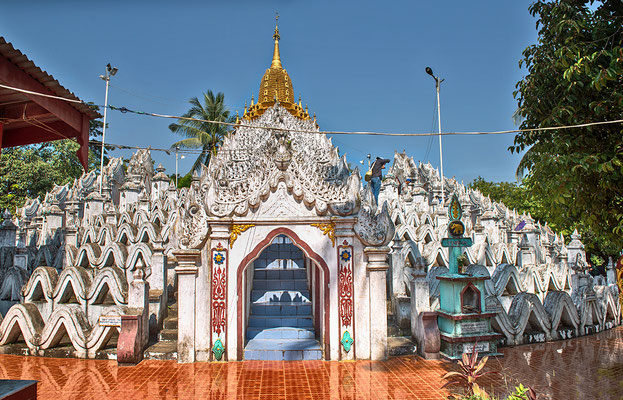 Hsinbyume Pagode in Mingun / Mandalay