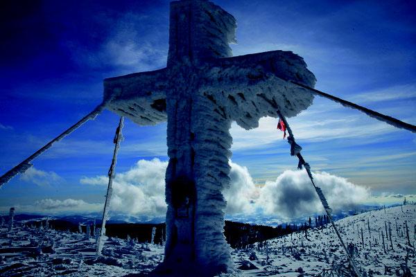 Gipfelkreuz am Plöckenstein, c/Frantisek Janout