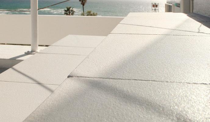 PROTECTAKOTE Antirutschfarbe Transparent auf Terrasse