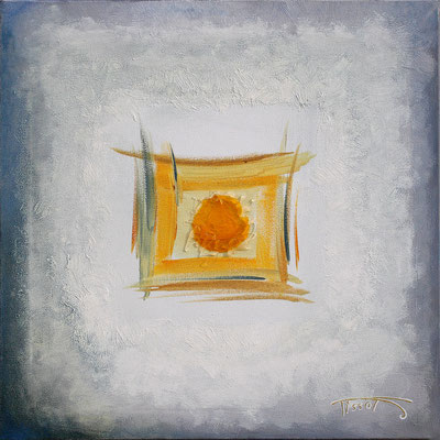 """Bouton d'or"" - 40 x 40 - 320€"