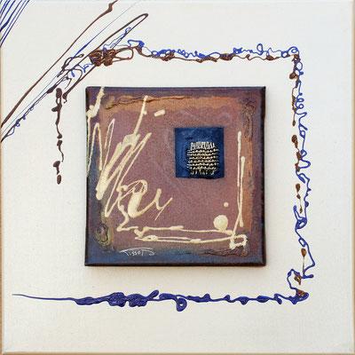 """""""Tissage"""" - 40 x 40 - 320€"""