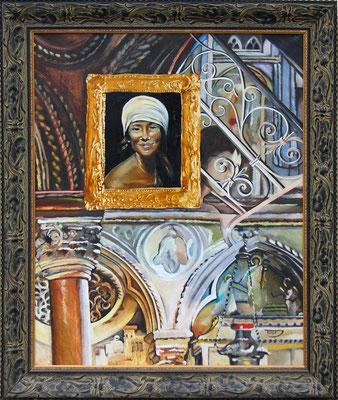 """""""Saint Antoine de Padoue"""" 73 x 92 - Original indisponible - Possible en digigraphie ou reproduction."""