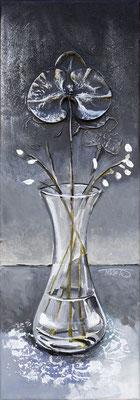 """""""Le vase"""" 20 x 60 - Offert au Rotary -  Disponible seulement en reproduction ou digigraphie®."""