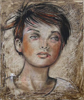 """""""Lor"""" 42 x 51 - 420€ Original disponible  - Possible en digigraphie ou reproduction sur toile"""