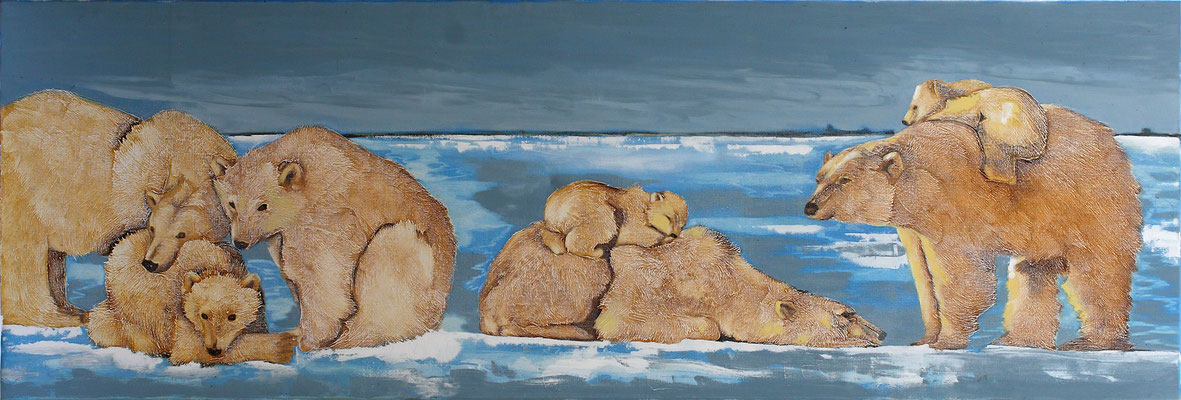 """""""Ours"""" - 50 x 150 - 1400€"""