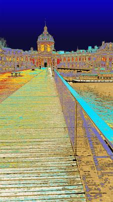 Le pont des Arts couleur