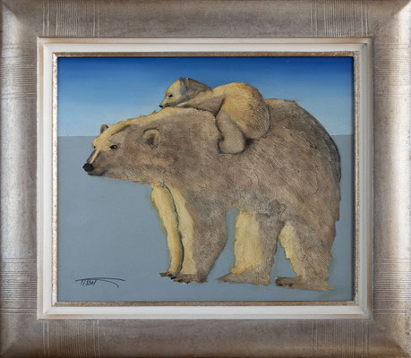 """""""Ours"""" 46 x 55 cm - 800€"""
