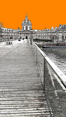 Le pont des Arts NB