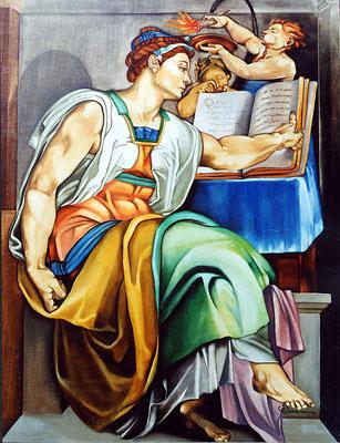 """""""Sybille"""" 89 x 116 cm - Disponible"""