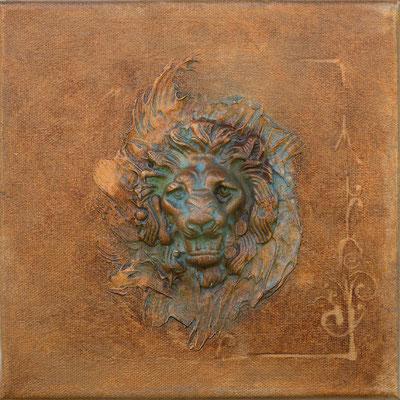 """""""Lion"""" 20 x 20 - 190€"""