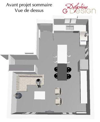 Modélisation aménagement maison