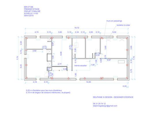Plan agencement maison