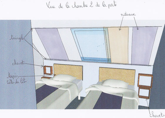Perspective ambiance chambre