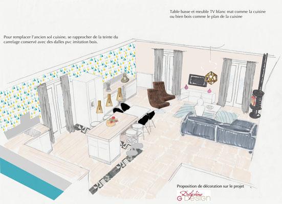 Proposition décoration maison