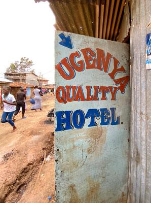 Трущобы Кибера в Найроби