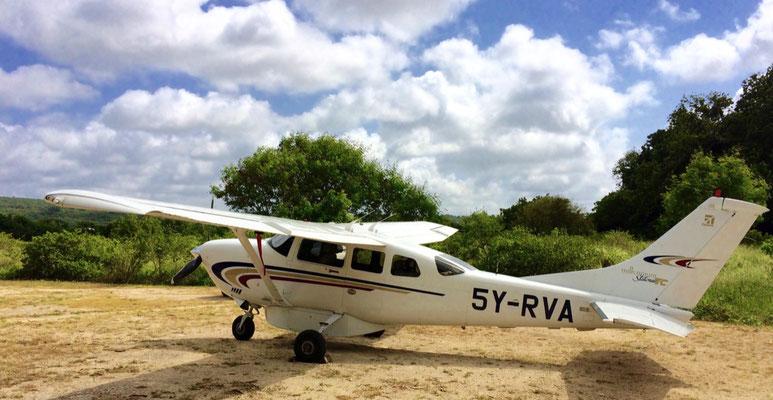 полеты на легкомоторных самолетах в Кении