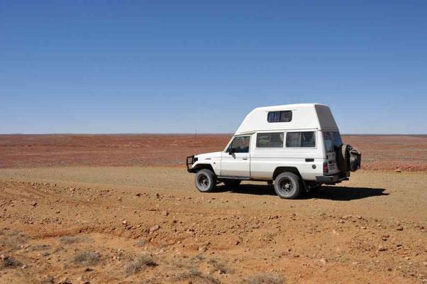 Wüste auf Oodnadatta-Track