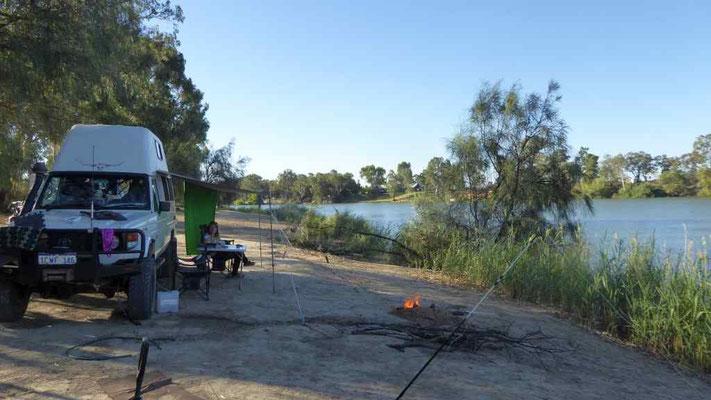 Camping in Mildura