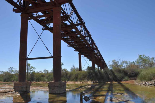 alte Brücke Ghan-Railway