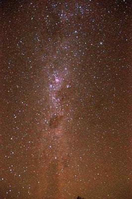 Sternenhimmel wunderbar :-)
