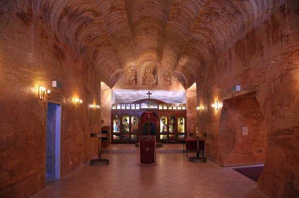 Coober Pedy Untergrundkirche