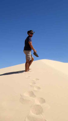Sanddüne im Mungo Nationalpark