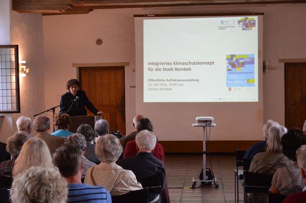 Jörg Wortmann bei der Auftaktveranstaltung