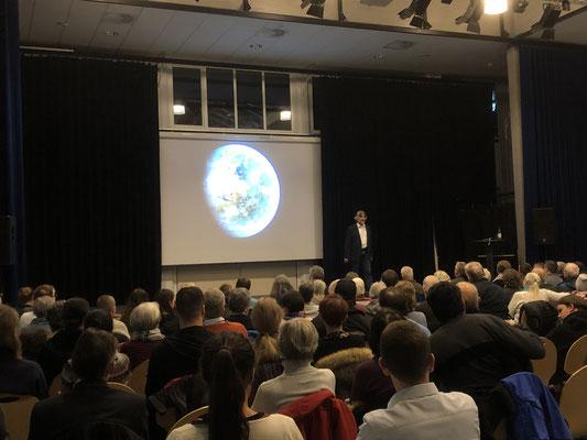 Auftaktveranstaltung: Vortrag von Polarforscher Arved Fuchs