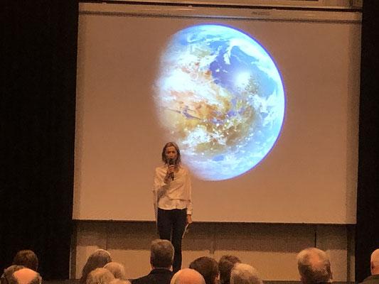 Auftaktveranstaltung: Begrüßung durch Bürgermeisterin Verena Jeske
