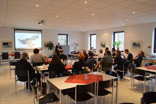 Workshop Klimaschutz und Unternehmen bei Fa. Amandus Kahl