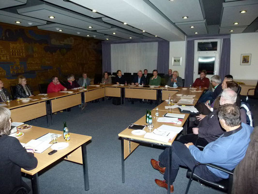 Sitzung der projektbegleitenden Lenkungsgruppe
