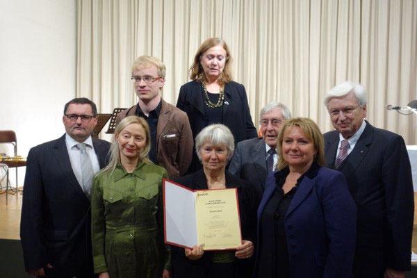 Manfred Marihart; Cornelius Binder; Barbara Neuwirth, Barbara Keller; Gerlinde Hofbauer, Herwig Peschka und Winfried Leisser für den Rotary Club Geras
