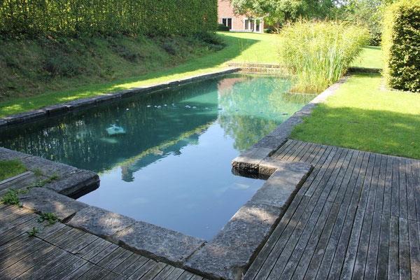 Piscines naturelles de style rustique water garden for Plan piscine naturelle