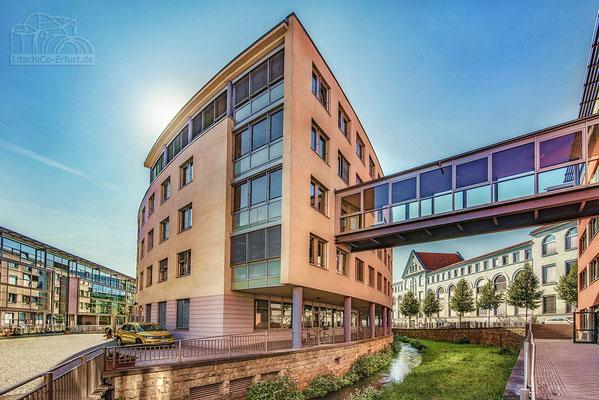 Moderne Architektur im Erfurter Brühl