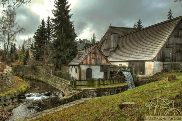 Architekturfotografie: Mühle im Erzgebirge