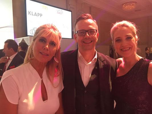 Herr Tobias Hartmann, Geschäftsführer der Firma laBIOCOME mit unserer Kollegin Petra Nos aus Offenbach.
