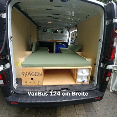 Transporter mit VanBus 124er Breite