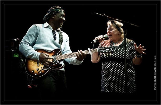 10 Roland Tchakounte (Cameroon) & Sweet Felicia (Australia)