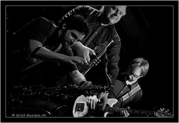 Hoodoo Men - 10. März 2012 - Kiel Räucherei