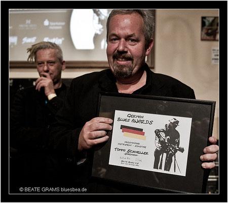 4 Preisträger Instrument/Sonstige – Tommy Schneller, Saxophon