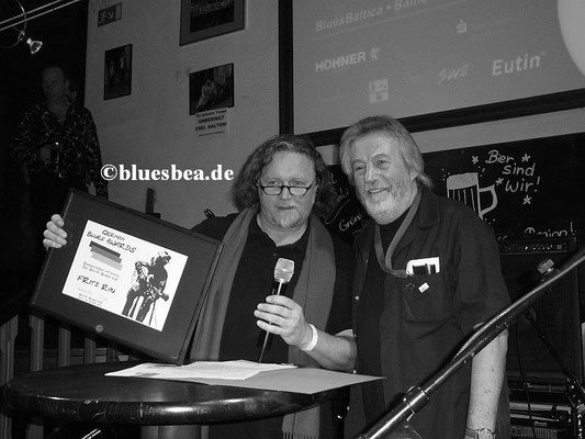 li. Uwe Mamminga (Downtown Bluesclub Hamburg)