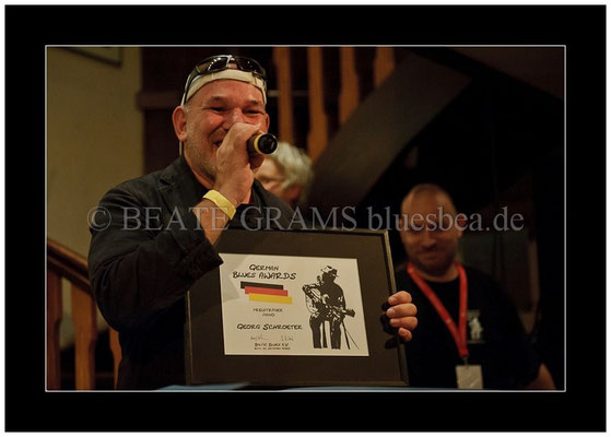 eorg Schroeter, Verleihung German Blues Award - Ehrenpreis: Bestes Piano