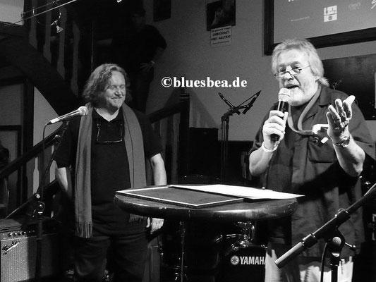 re. Horst-Dieter Fischer (1. Vorsitzender Baltic Blues e.V.)