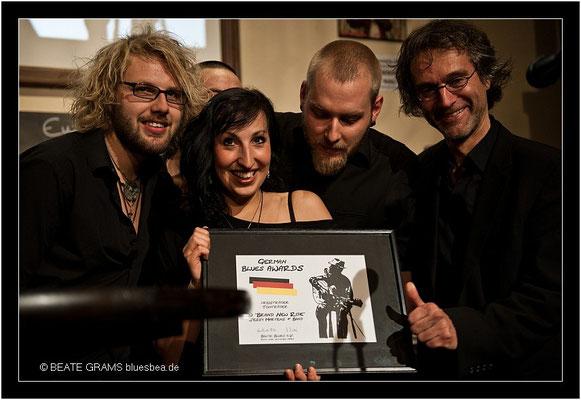 "3 Preisträger Tonträger - ""Brand New Ride"" (Jessy Martens & Band)"
